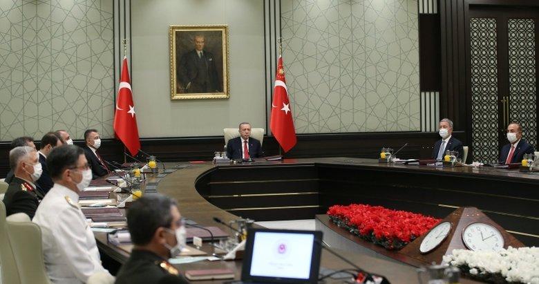Son dakika: Başkan Erdoğan, Yüksek Askeri Şura kararlarını onayladı