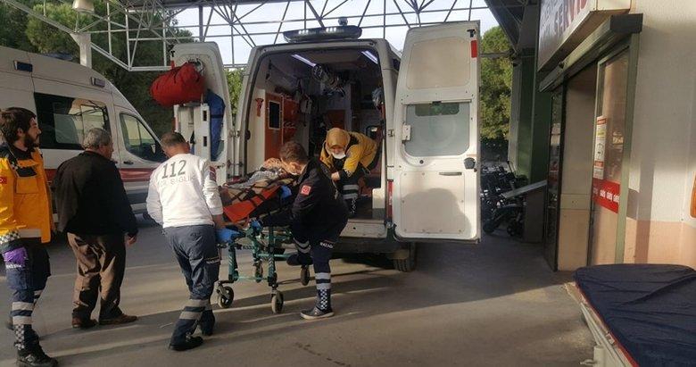 Aydın'da sobadan zehirlenen yaşlı çift hastaneye kaldırıldı
