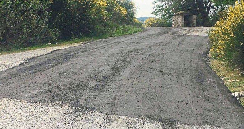 O 'ralli yolu' asfaltlandı
