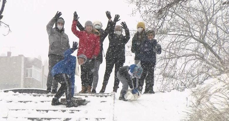 Balıkesir'de eğitime kar engeli