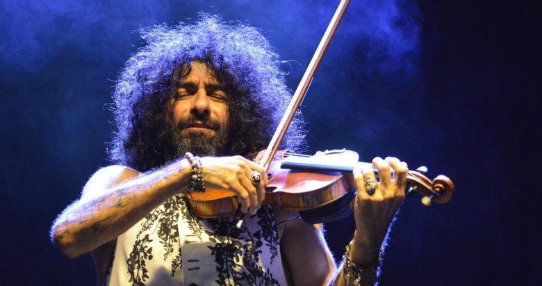 Ünlü keman sanatçısı Malikian'dan fuar konseri