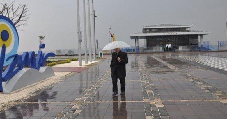 Meteoroloji'den sağanak uyarısı! İzmir'de hava bugün nasıl olacak? 12 Nisan Cuma