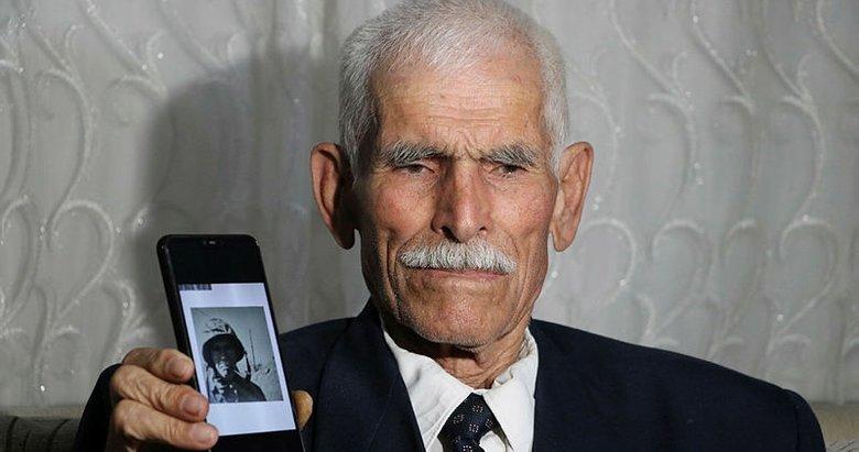 Kore gazisi, 69 yıl önceki fotoğrafını ilk kez gördü