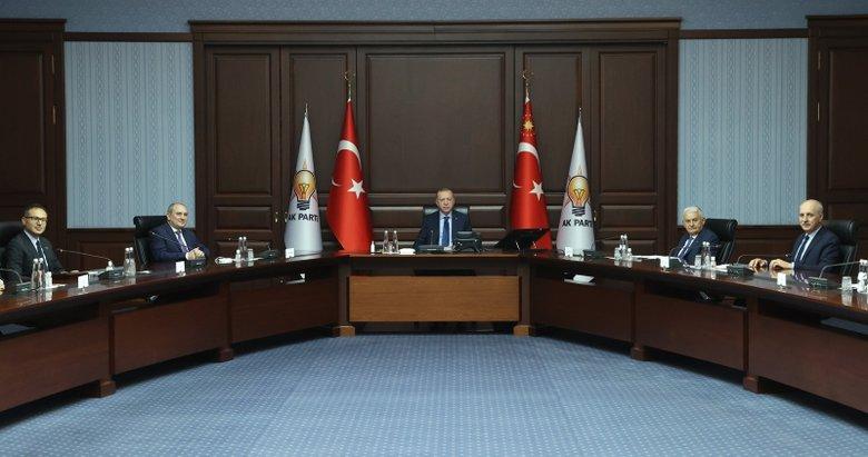 Başkan Erdoğan, Yeni Azerbaycan Partisi heyetini kabul etti