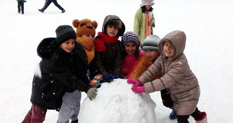 10 Şubat Pazartesi kar tatili olan iller! Eğitime kar engeli...