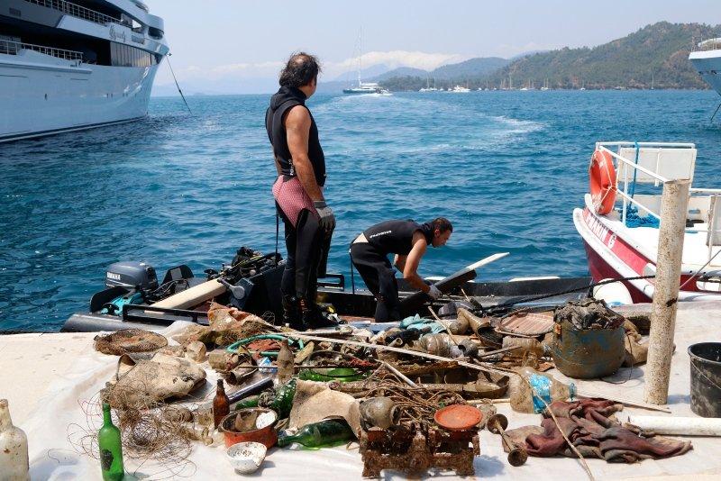 Muğla Fethiye'de denizden çıkanlar herkesi şok etti! Bakın neler çıktı?
