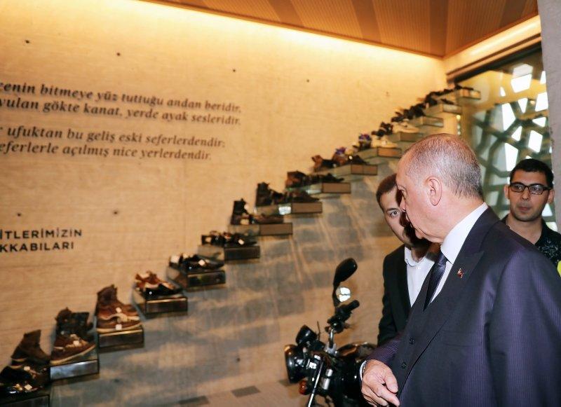 Başkan Erdoğan'dan Hafıza 15 Temmuz Müzesi'ne ziyaret
