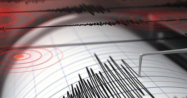 Ege Denizinde 4.1 büyüklüğünde deprem