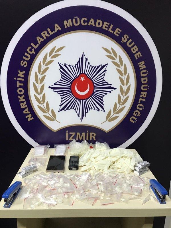 İzmir merkezli 4 ilde hava destekli eş zamanlı uyuşturucu operasyonu