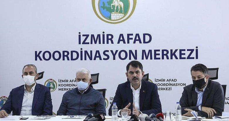 Bakanlardan İzmir'de flaş açıklamalar! Son durum nedir?