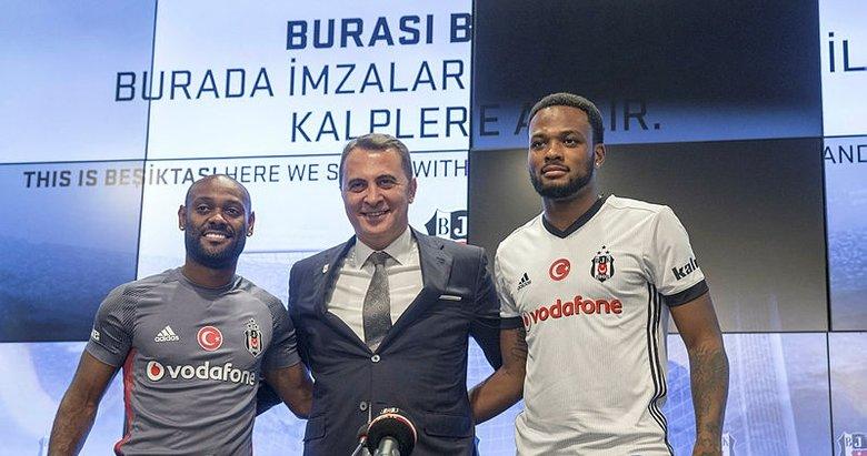 Beşiktaş'ta çifte imza
