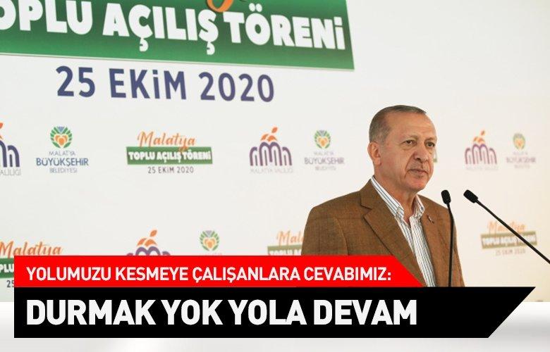Başkan Recep Tayyip Erdoğan'dan Toplu Açılış Töreni'nde önemli açıklamalar