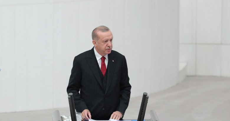 Son dakika: Başkan Erdoğan'dan TBMM 27. Dönem 4. Yasama Yılı açılışında önemli mesajlar