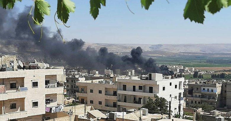 YPG/PKK, Afrin'e ABD füzeleriyle saldırdı: 3 ölü, 4 yaralı