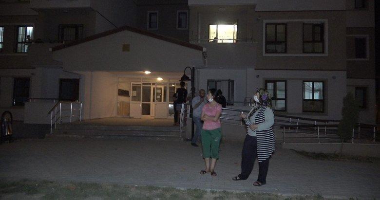 Denizli'de komşularıyla tartışan kadın yaptığı ile herkesi şok etti