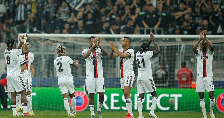 Beşiktaş, UEFA Şampiyonlar Ligindeki ilk maçında evinde mağlup oldu