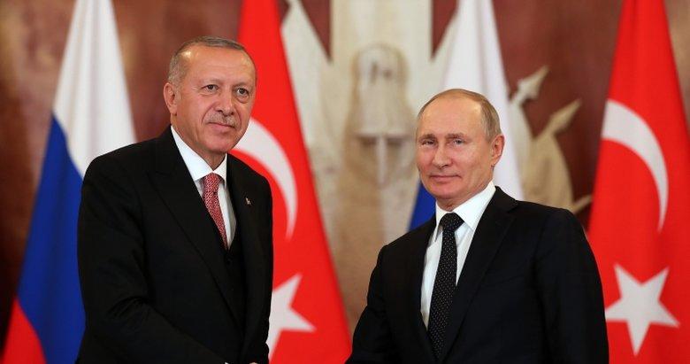 Başkan Erdoğan, Putin ile görüştü