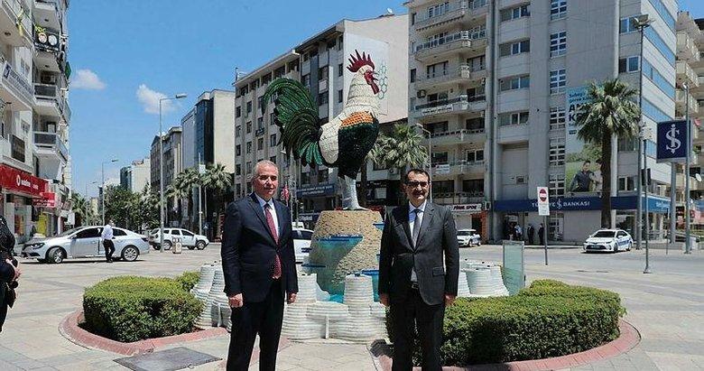 Enerji ve Tabii Kaynaklar Bakanı Dönmez, Denizli'de ziyaretlerde bulundu