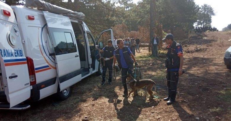 Kütahya'da ormanda kaybolan yaşlı kadın bulundu