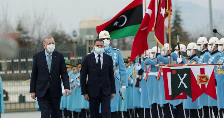 Libya başbakanı Dibeybe Külliye'de