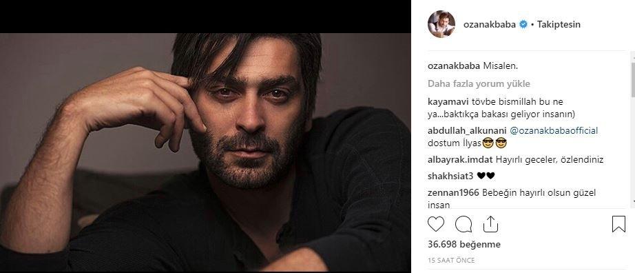 Ünlülerin Instagram paylaşımları (03.09.2018)