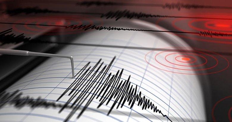 Denizli'de 3,8 büyüklüğünde deprem!