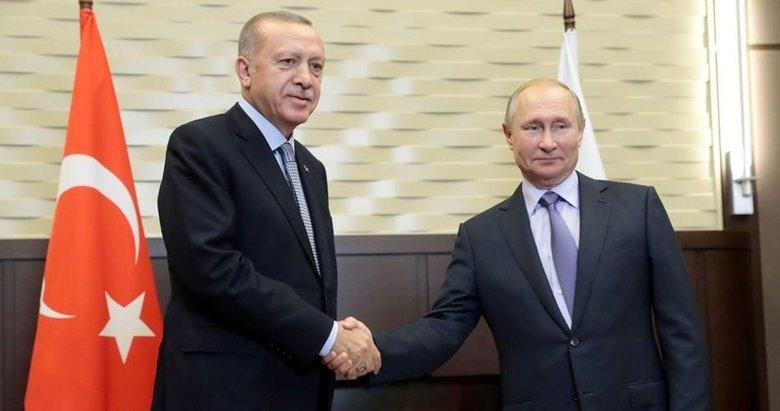 Başkan Erdoğan ile Putin'den Afganistan görüşmesi