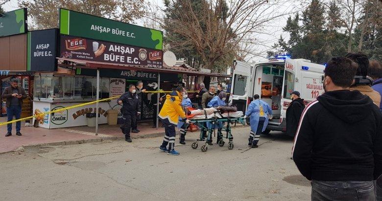 İzmir'de büfeye silahlı saldırı!
