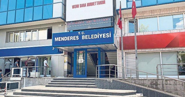 Menderes Belediyesi'nde rüşvet skandalı patladı