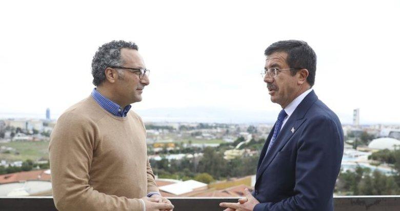 Nihat Zeybekci İzmir'e müjdeyi verdi