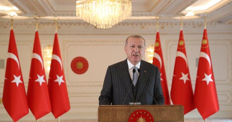 Başkan Erdoğan, milli sporcu Şahika Ercümen'i tebrik etti