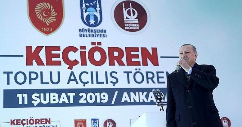 Erdoğan açıkladı: Sıra temizlik malzemeleri satışında