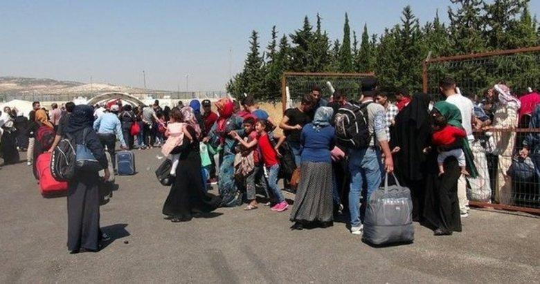 Güvenli bölge oluştu 100 bin Suriyeli döndü