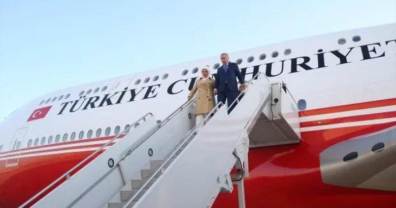 Başkan Erdoğan ABD'deki temaslarının ardından yurda döndü