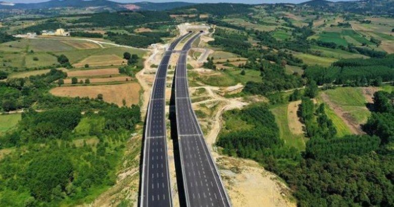 Kuzey Marmara Otoyolu'nun bir bölümü daha trafiğe açılıyor