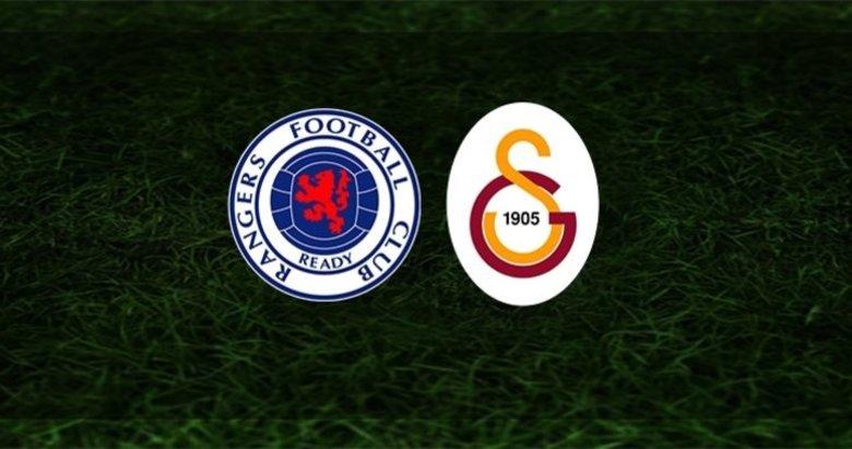 Galatasaray - Rangers maçı ne zaman, hangi kanalda canlı yayınlanacak?