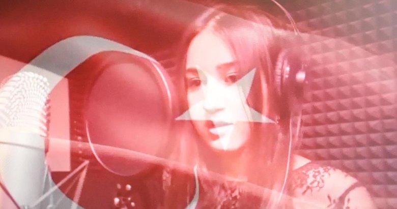 AK Partili eski vekilin kızından Zeytin Dalı Harekatına rap şarkı