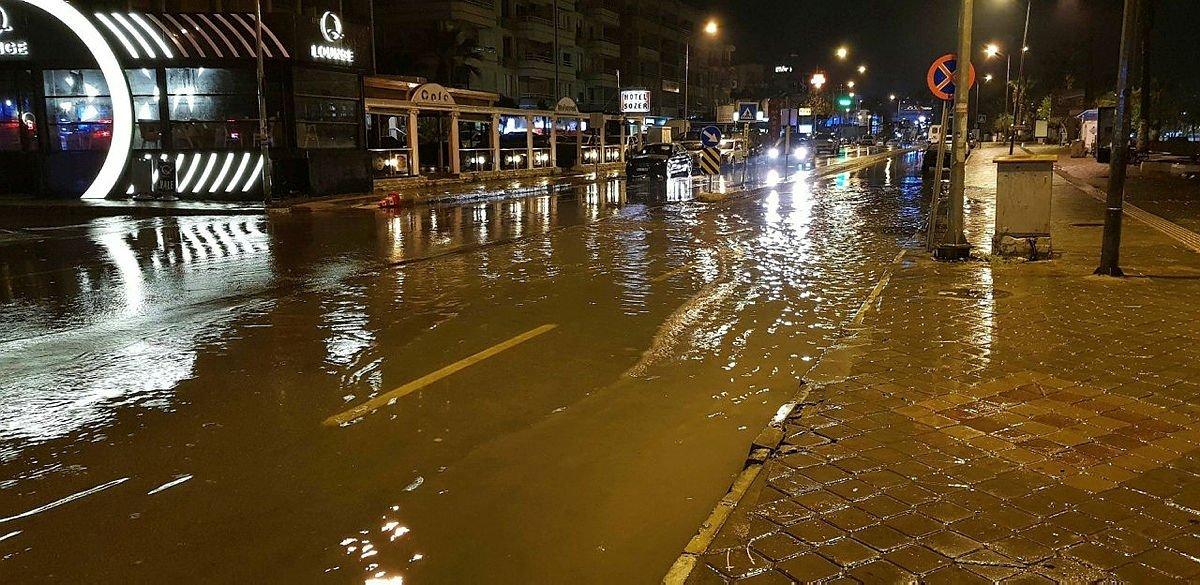 Aydın'da ıslak Haziran! Metrekareye 121 kilogram yağış düştü