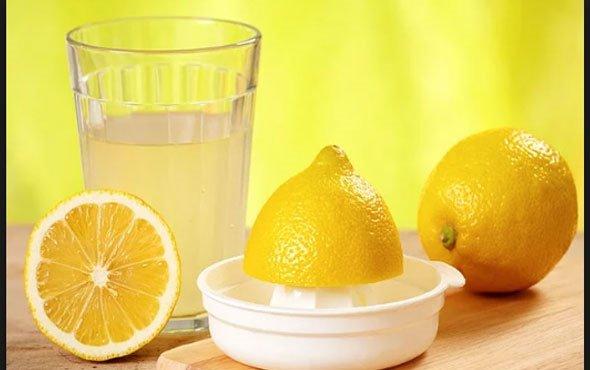 Limonlu sunun faydaları! limonlu su neye iyi gelir?