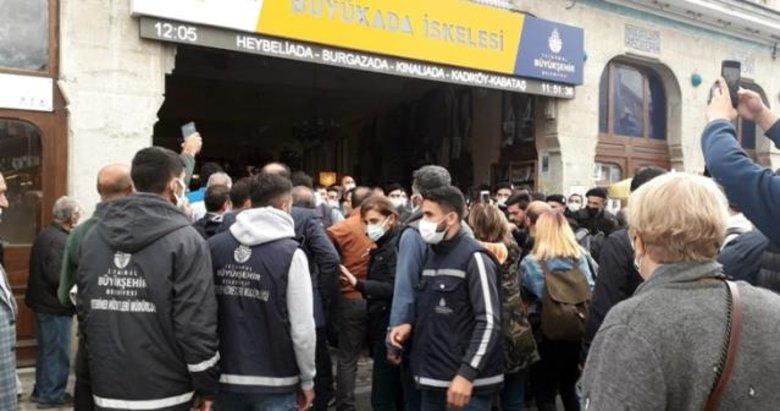 CHP'nin Adalar zulmü