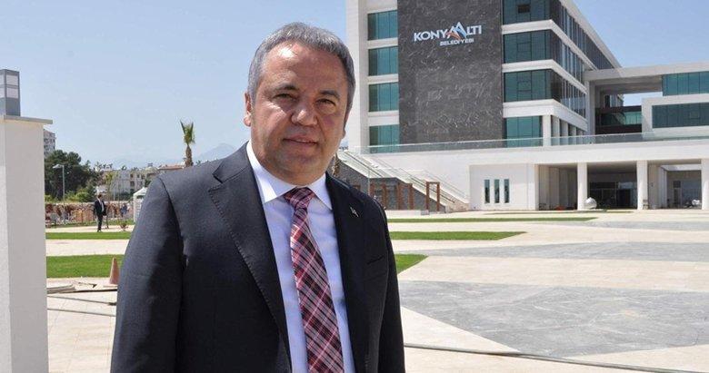 Antalya'da yeğene daire başkanlığı