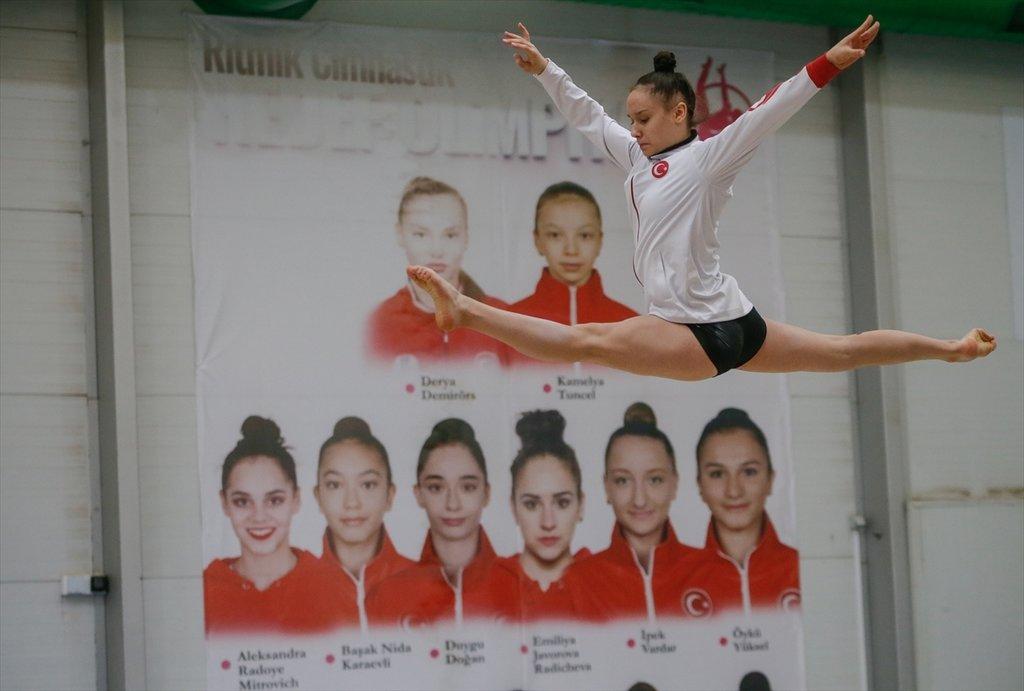 Cimnastiğin Tokyo yolcuları 2020'den umutlu! Olimpiyatlar için çok iddialıyız