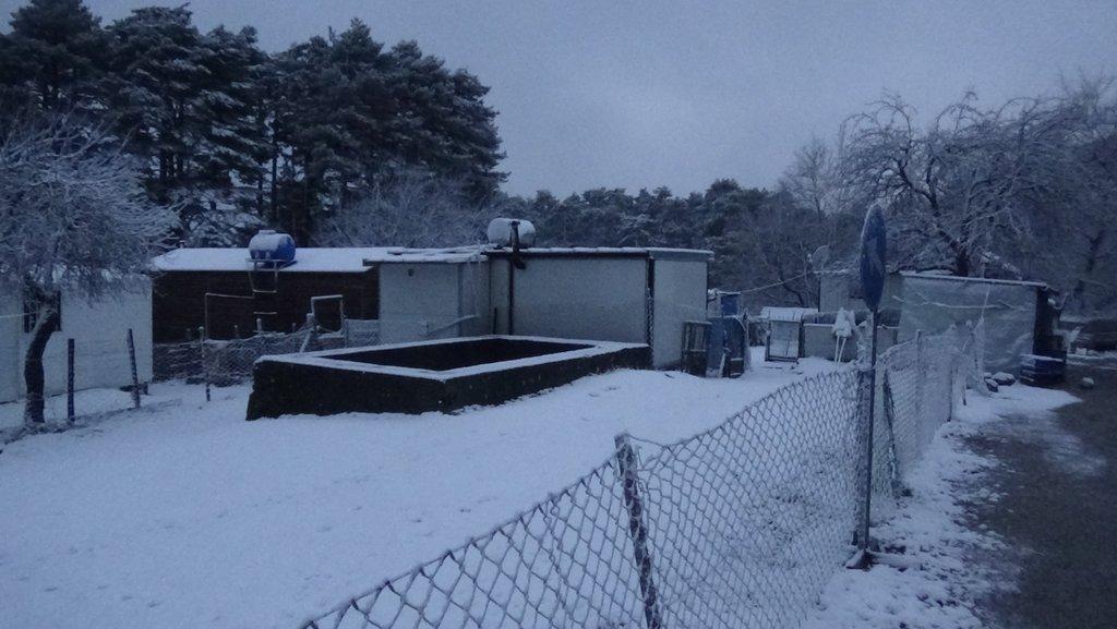 Kazdağları'nda akşam saatlerinde kar yağışı başladı