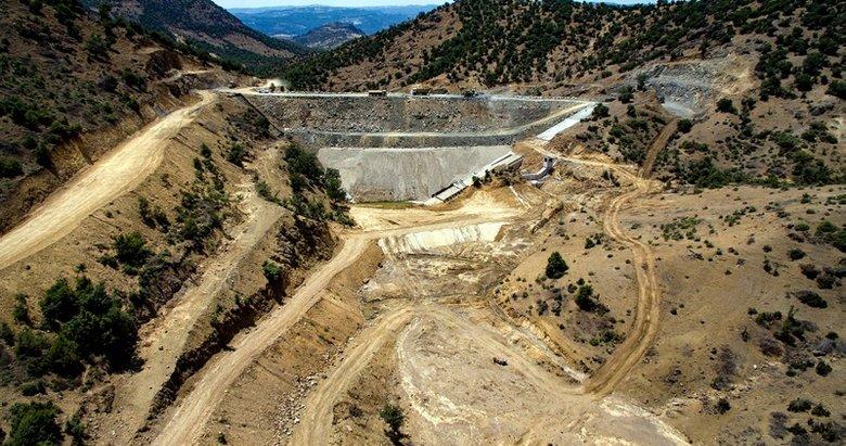 Manisa'daki Sayık Barajı 2021 sonuna yetişecek