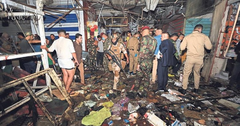 Bağdat'ta 30 kişinin öldüğü terör saldırısını DEAŞ üstlendi