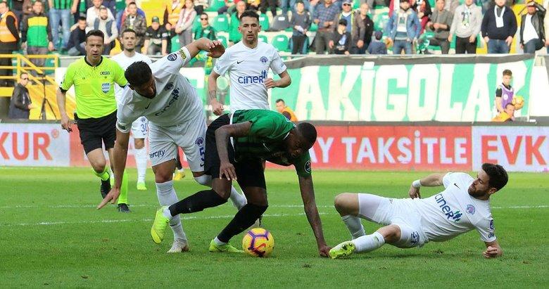 İkinci yarının en başarısızı Akhisarspor