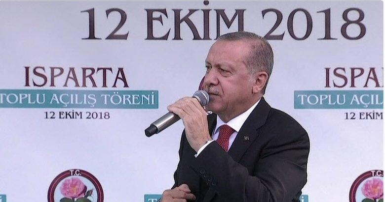 Erdoğan: 'Teröristler mezarımızı kazdık gelin' diyor