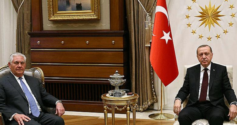 Ankarada tarihi Erdoğan-Tillerson zirvesi