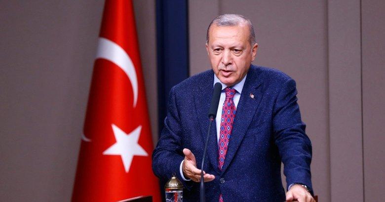 Başkan Erdoğan'dan ABD'ye yanıt: 'Kürtlerle sorunumuz yok sorunumuz terörle'