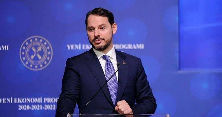 Hazine ve Maliye Bakanı Berat Albayrak'tan Stok Finansman Destek Paketi paylaşımı